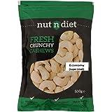 nutndiet Fresh Crunchy Cashews Economy (Super Small) Wholes (500g)