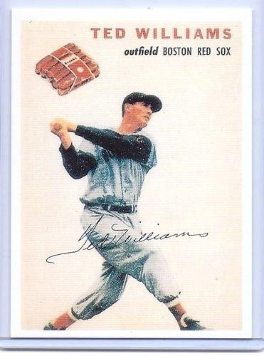 Ted Williams 1954 Wilson Franks Vintage Baseball Card Reprint! Boston Red Sox!