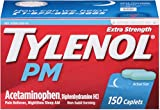 TYLENOL PM Extra Strength Caplets 150 ea (10 Pack)