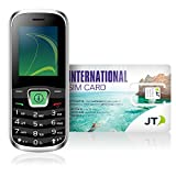 Telestial Travel Buddy Quad-Band Handset and OneRate Prepaid International SIM with USD 5.00 Credit