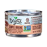 Cheap Purina Beyond Simple Origins Grain Free Natural High Protein Non Gmo, Farm Raised Chicken, Wild Caught Shrimp & Carrot Pate Recipe Canned Cat Food, 3 Oz, Case Of 12