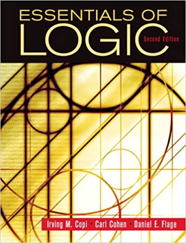 Amazon essentials of logic 9780132380348 irving copi carl essentials of logic 2nd edition fandeluxe Images