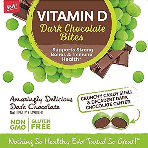 Healthy Delights, Vitamin D Chocolate Bites, 8.82 oz. (12 Count)