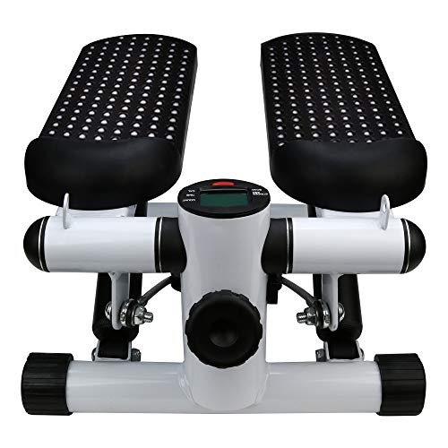 Iuhan  Health Fitness Mini Stepper with Band, Household Gym Hydraulic Mute Stepper Multi-Function Pedal Indoor Sports Stepper Legs by Iuhan  (Image #4)