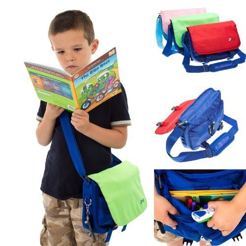Ultimate Addons Childrens Messenger Bag suitable for the LeapPad Reader and Books (red)