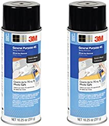 2-Pack 3M General Purpose 45 Spray Adhesive, 10-1/4-
