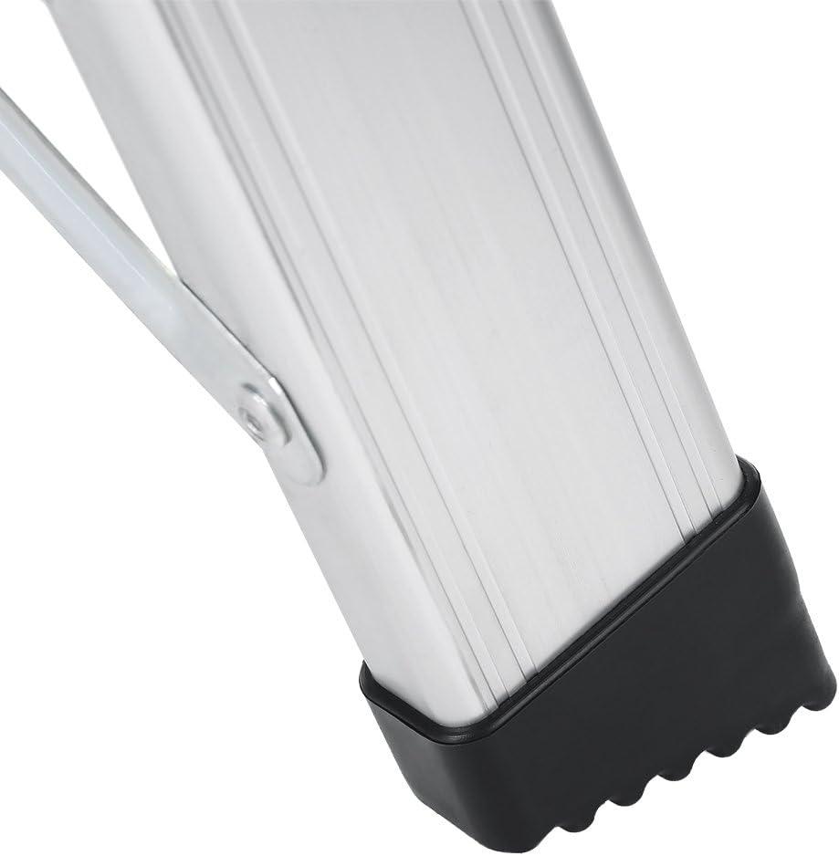 Aluminium Marchepied Antid/érapant Echelle Domestique en Acier Antid/érapante Galapara Escabeau Pliant 2 Marches Robuste et Compact 330LB Capacit/é 40x56x59cm