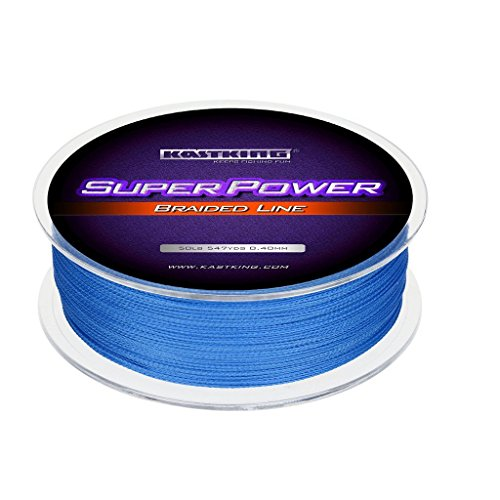 KastKing SuperPower Braided Fishing Line - Abrasion Resistant Braided Lines – Incredible Superline – Zero Stretch – Smaller Diameter