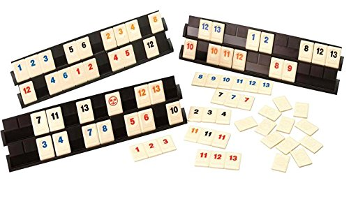 Deluxe Rummy with 160 tiles with 6 boards for 6 players