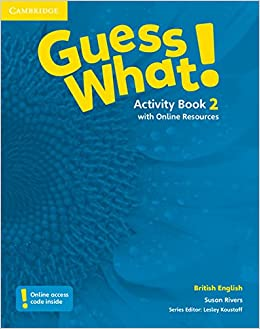 Cambridge Guess What! Level 2 Activity Book with Online Resources | 9781107527911