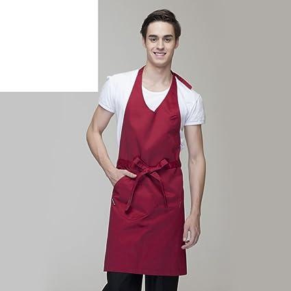 Grembiule Abiti Da Lavoro Casa Cucina Grembiuli Da Cucina Per Uomini E Donne Grembiule Cuoco D Amazon It Casa E Cucina