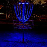 #8: Set of 2 LED Lights for Flying Disc Golf Basket, Waterproof, Remote Control, Remote Controlled and velcroes to Attach (Basket Not Included)