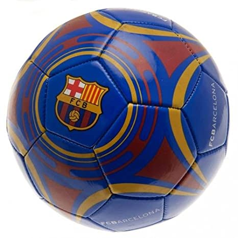 F.C. Barcelona - Balón de fútbol ST BL (producto oficial): Amazon ...