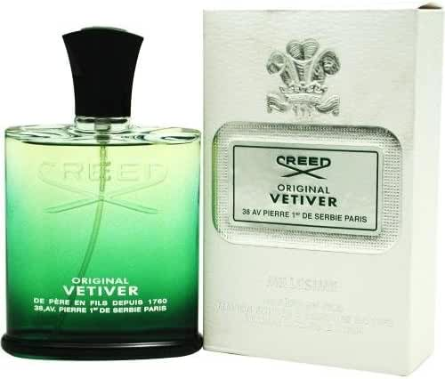Creed Vetiver By Creed For Men. Eau De Parfum Spray, 4-Ounces