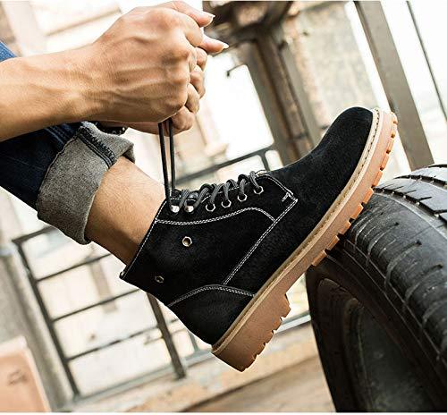 Versione Versione Versione degli degli degli degli Scarpe Tendenza DING nella da più 44 in Selvaggio Uomo EUR da B Uomo Coreana di Cotone Dimensioni Martin Scarpe Utensili Invernali Cotone B Stivali Velluto in Boots Colore zarvqRwz