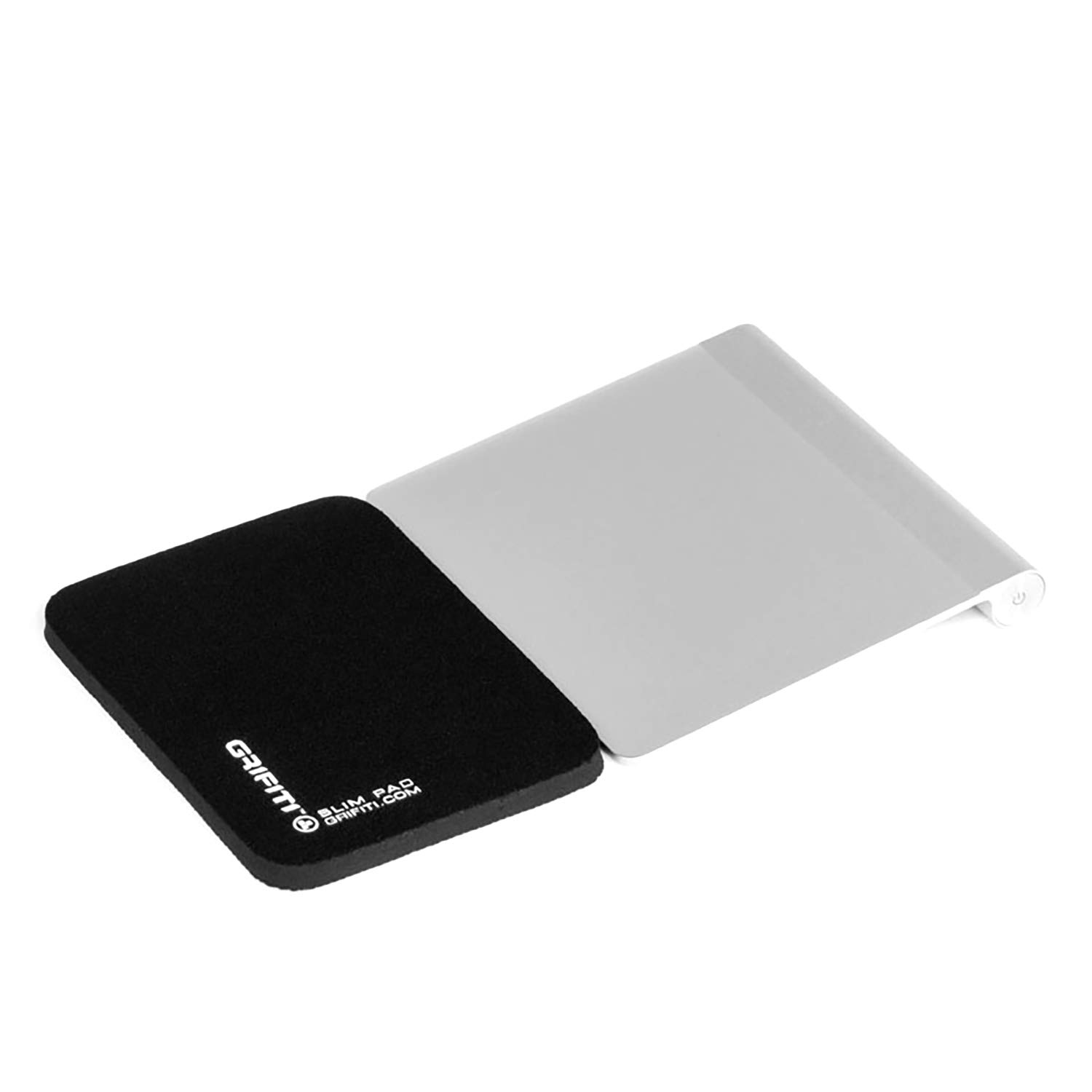 Grifiti Slim Wrist Pad 5 5 x 4 x 0.25 Smooth Skin Surface (No Nylon) and Non-Skid Base Wrist Rest for Apple® Magic Trackpad, Mobee Numpad, Power Bar, Meshwe, Logitech, Anker, Perixx, GMYLE, Macally, Rupoo, SIIG, Azio Mouse Wrist Rest Mice Keypads 24051