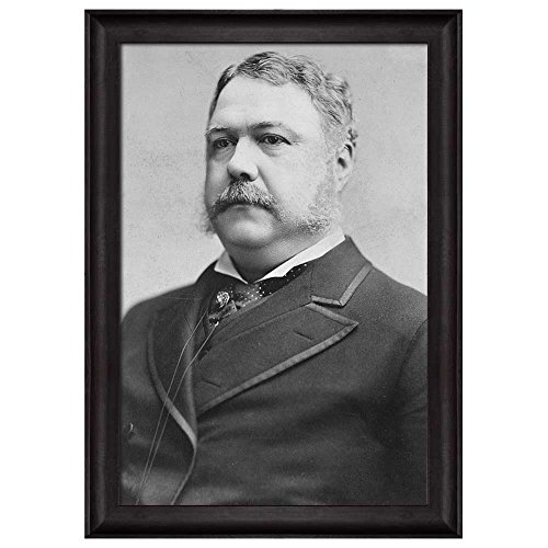 Portrait of Chester A Arthur (21th President of the United States) American Presidents Series Framed Art Print