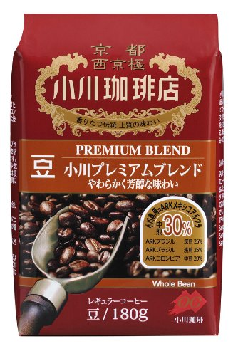 Ogawa Coffee shop Ogawa premium blend beans 180g