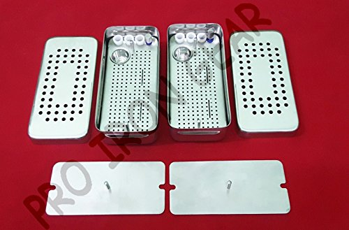PRF & GRF System Dental IMPLANT Box (2 Pieces Set) (Best Dental Implant System)