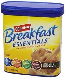 Carnation Breakfast Essentials, Rich Milk Chocolate Powder, 17.7oz