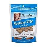 Nutri-Vet Senior-Vite Soft Chews for Dogs, 6-Ounce, My Pet Supplies