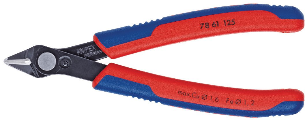 Knipex 78 61 125 SB Diagonal Cutter''Super-Knips'' 4,92'' in blister packaging