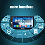 PUMPKIN Android 8.0 Car Stereo Double Din 4GB
