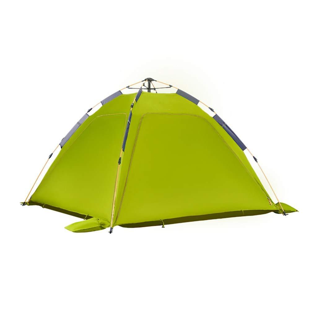 HUIYUE 3-4 Personen Geschwindigkeit Automatische Zelt öffnen,Doppel Zelt,Outdoor-Camping Zelt,Regen Windproof Camping-ausrüstung-B 210x210x130cm(83x83x51inch)