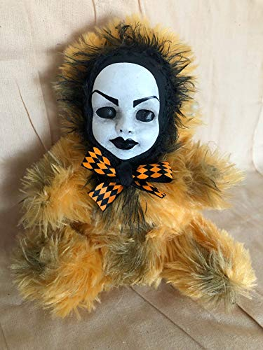 OOAK Beauty Face Teddy Bear Creepy Horror Doll Art Christie Creepydolls from Christie Creepy Dolls