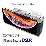Smartphone Camera Grip for iPhone X, XS, XS Max, XR, 6+, 6S +, 7+, 8+ (Big)