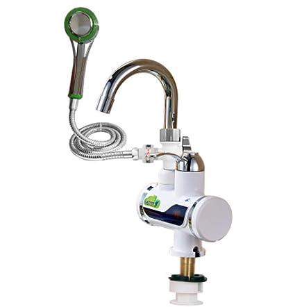 Faucet Kevin Grifo de Agua Instantánea Cocina de Doble Uso Calentador de Agua Solo Agujero de