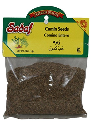 Sadaf Cumin Seeds, 4oz (Pack of 2) by Sadaf