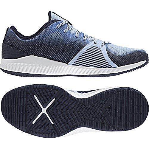 adidas Damen Crazytrain Bounce W Turnschuhe Blau (Azusen/Plamet/Azmete) 40 EU