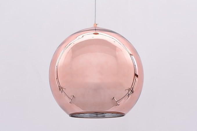 Lampadario Gocce Rosa : Lampadario oro rosa