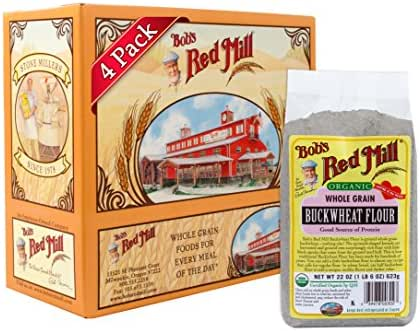 Flours & Meals: Bob's Red Mill Organic Buckwheat Flour