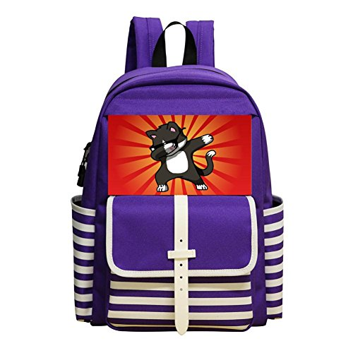 Ultimate DAB Student Book Bag Children Backpack Teens Shoulder (Life Size Grinch)