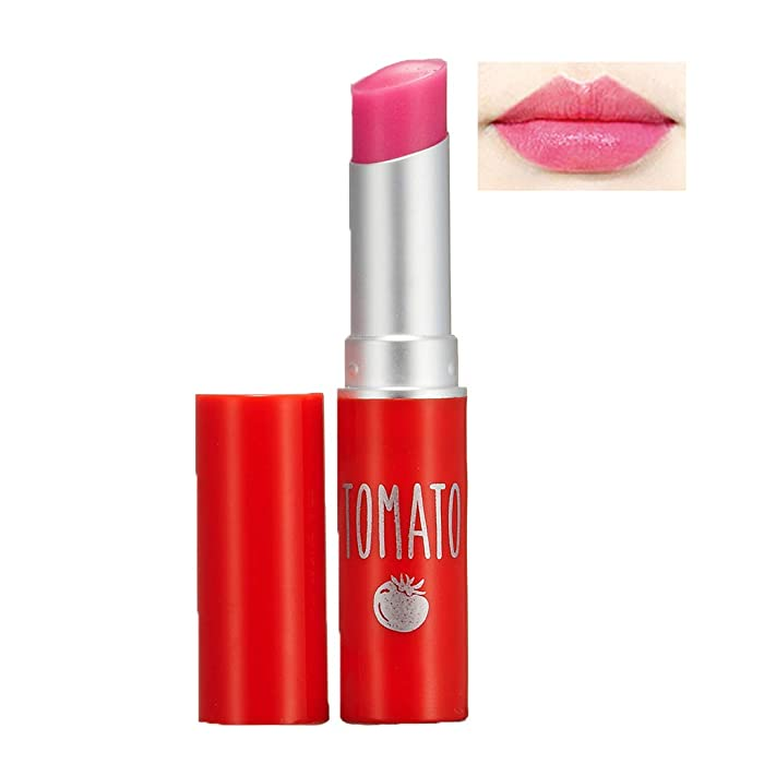 SKIN FOOD Tomato Jelly Tint Lip (#02 Berry Tomato) - Moisturizing Tinted Lip Balm with Vitamin E Tomato Extracts, Healthy Looking Long Lasting Natural Lip Makeup
