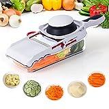 Lifewit Mandoline Slicer 5 Blades Interchangeable Stainless Steel Vegetable/Fruit Slicers