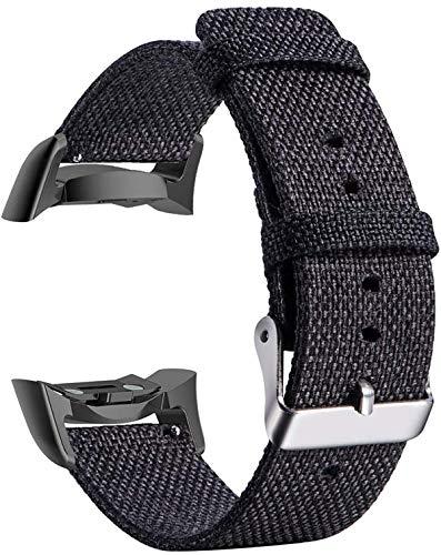 Morning May Kompatible Gear Fit2 Pro / Fit2 Armband, gewebter Stoff, Ersatz für Samsung Gear Fit 2 Pro Smartwatch…