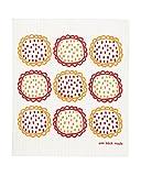 Trendy Tripper Swedish Dishcloth, Set of 2 Orange