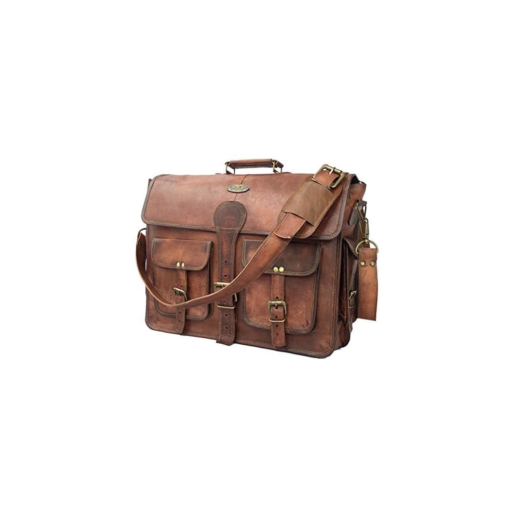 5e4a1fe8161f Leathario Mens Leather Sling Bag
