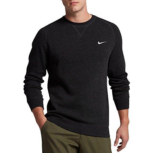 Nike Men's Golf Range Sweater Crew (Black Heather, XX-Large) ()