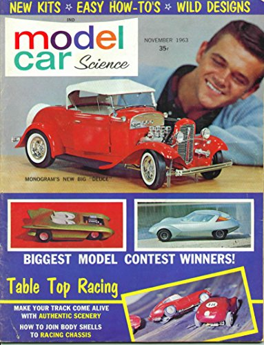 Model Car Science Magazine November 1963