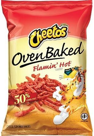 Cheetos horno horneado Flamin caliente queso sabor ...