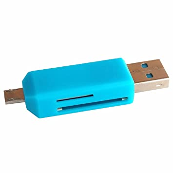 2-IN-1 Micro USB 2.0 OTG TF Memory Card Reader For Android Smartphone PC