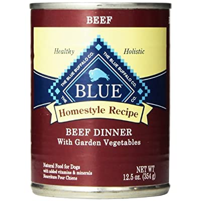 Blue Buffalo Blue Homestyle Recipe Beef Dinner with Garden Vegetables Wet Dog Food