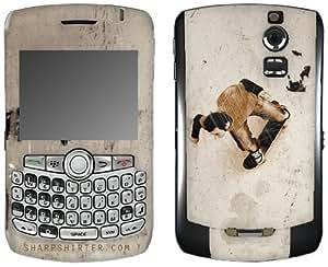 MusicSkins, MS-SHRP130006, Sharp Shirter - Sk8ting, BlackBerry Curve (8300/8310/8320), Skin