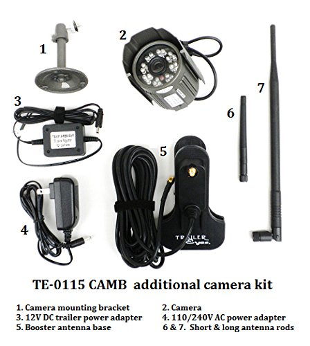 Trailer Eyes Additional Camera Kit for TE-0115 by Trailer Eyes