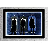 Doctor Who 50th Anniversary - The Doctor's Promise - Original Minimalist Art Poster Print