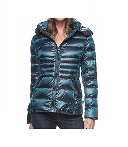 andrew-marc-ladies-short-down-jacket-green-pearlized-amazon-small
